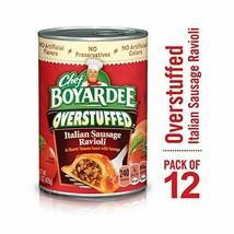 Chef Boyardee Overstuffed Italian Sausage Ravioli, 15 oz, 12 Pack - $36.69