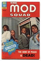 MOD SQUAD #4 1970-DELL COMICS-PEGGY LIPTON PHOTO COVER FN+ - $50.44