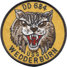 """4.5"""" NAVY USS MULIPHEN AKA-61 EMBROIDERED PATCH - $23.74"""
