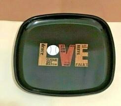EAMES ERA MID CENTURY MODERN- COUROC MOD LOVE (TENNIS THEME) TRAY  8 1/2... - $27.45