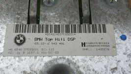BMW Top Hifi DSP Logic 7 Amplifier Amp 65.12-6 943 491 Herman Becker image 7