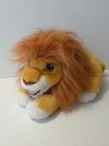 Disney Lion King ROARING ADULT SIMBA Stuffed Puppet~Large Plush  - $17.10