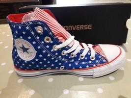 Converse Unisex Chuck Taylor All Star Blue/White/Red High Tops     BNIB - $638,91 MXN