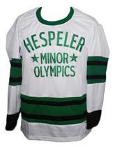 Wayne Gretzky #99 Hespeller Minor Olympics Hockey Jersey New White Any Size image 1