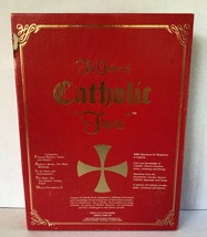 The Game of Catholic Trivia Bingo Board Game by Cadaco, 1985. Used / Complete - $24.99