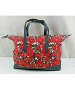 Rare Vintage Tommy Hilfiger Floral Design duffle tote beach bag - $39.00