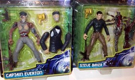 RARE Brand New Virus 'Steve Baker' 'Captain Everton' Action Figure 1998 ... - $19.79
