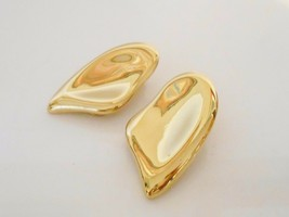 Vendome Abstract Earrings Clip Back 1980's - $9.50