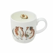 BOXED WRENDALE OFFICIAL LICENSED GUINEA PIG FINE PORCELAIN CHINA MUG CUP - $13.09