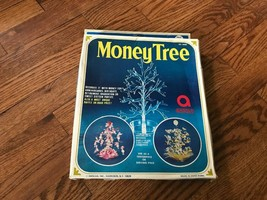 "Vintage Amscan Plastic 12"" Money Tree Centerpiece Clear Party With Origi... - $14.01"