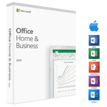Microsoft Office 2019 Home and Business For Apple Mac, Genuine, Free Shi... - $44.95