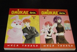 OMUKAE DESU Vol.1-2 Books Graphic Novel Manga Comic Lot - $17.00