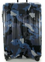 Tumi V3 Lightweight Short Trip Expandable Suitcase Blue Camo Spinner Lug... - $490.05