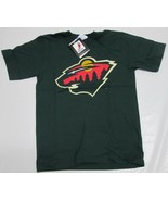 Minnesota Wild Youth T-Shirt Large Marian Gaborik Majestic NHL Team Logo... - $6.99