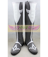 Final Fantasy XIV 14 White Mage cos Cosplay Shoes Boots shoe boot  #JZ600  - $66.00