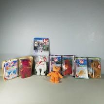 Lot of 5 Ty Beanie Babies McDonalds Camel, Bears, Dinosaur See List Below - $18.99