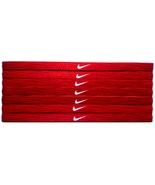 Nike Unisex Running All Sports Red Sports Design Headband New - $6.50