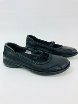 MERRELL Tetra Sprite Womens Size 8.5M Black Leather Mary Jane Loafers - $34.60