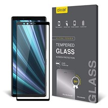 Olixar Sony Xperia 1 Glass Screen Protector - [Full Coverage] - Tempered Glass - - $20.91
