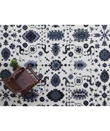 C & B Juno White Persian Style Handmade Tufted 100% Woolen Area Rugs & ... - $199.00+