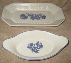 Pfaltzgraff Bread Plate & Butter Plate Yorktown... - $20.00