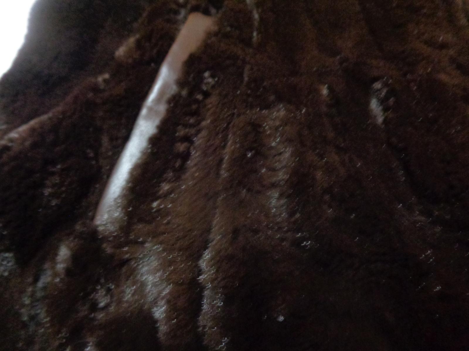 Charter Club Women's Faux Fur Vest NWT Chocolate SZ Medium