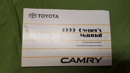1999 Toyota Camry Owner's Owners Manual ONLY **No Case** Part No. 01999-33505 - $11.64