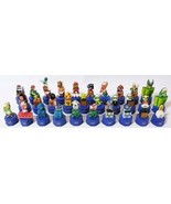 Super Mario bros Pepsi bottle cap complete 30 figures with both package nes - $130.37