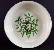 "LENOX China Holiday Dimension 4 Fruit/Dessert (Sauce) Bowl 5-3/8"" Dinnerware image 3"
