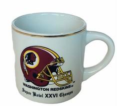 NFL Football Mug Cup Vtg Super Bowl Champions Washington Buffalo Bills X... - $24.14