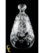 """1989 Waterford Crystal Christmas Bell """"Six Geese a-Laying"""" Great Condition - $62.34"""