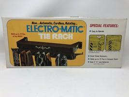 Brand New Vintage Swank Electro-Matic Tie Rack 72 Ties Battery Closet Mount - $29.70