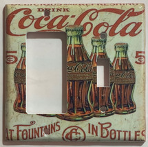 5 Cents Coke Bottles Old Poster Light Switch Outlet Wall Cover Plate Home Decor image 10