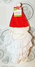DOG M/L SANTA RED HAT WHITE BEARD PET HOLIDAY CASUAL COSTUME CLOTHING ME... - $4.64