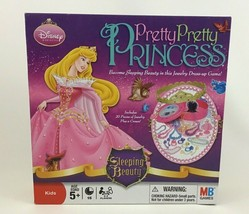 Pretty Pretty Princess Disney Sleeping Beauty Dress up Board Game Hasbro... - $45.49