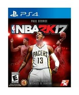 NBA 2K17 - Playstation 4, PS4 - Manual included - $6.81
