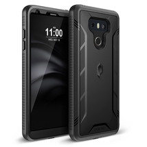 LG G6 Case Built-in Screen Protector Shockproof Cell Phone Defender Bump... - $19.50