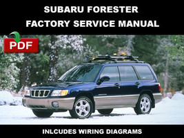 ULTIMATE SUBARU FORESTER 1998 1999 2000 2001 2002 OEM WORKSHOP REPAIR FS... - $14.95