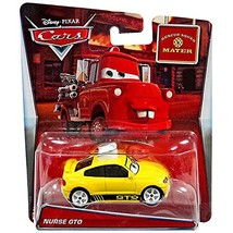 Disney/Pixar Cars Mater's Tall Tales Nurse GTO (Rescue Squad Mater) Die-... - $12.86