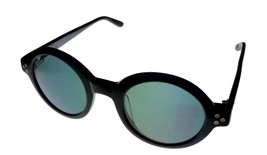 Converse Jack Piersol Mens Sunglass Soft Round Black Plastic Sunglass Y004 - $31.49