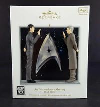Hallmark Star Trek Ornament An Extraordinary Meeting Magic 2012 - $19.79