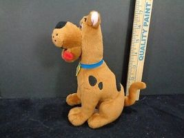 "Scooby Doo Where Are You TY Plush Stuffed Animal beanie Baby 7"" Brown Dog image 5"