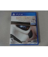Star Wars Battlefront Deluxe Ed. Sony Playstation 4 PS4 Game Complete Fr... - $16.82