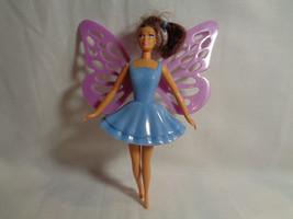 McDonald's 2001 Mattel Butterfly Teresa Barbie Doll Blue Dress - $0.98