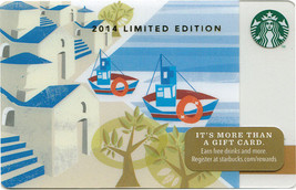 Starbucks 2014 Greek Islands Limited Edition Collectible Gift Card New N... - $2.99