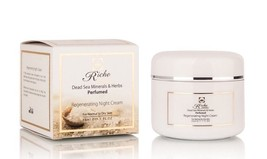 Anti Aging Night Cream Vitamins E and C by Riche Cosmetics Enriched Comp... - $34.35