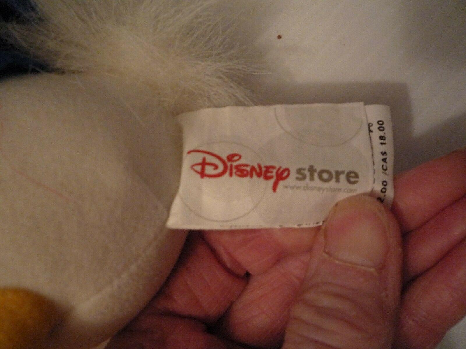Disney 9 1/2 Plush Stuffed Donald Duck in Sailor Suit Poseable