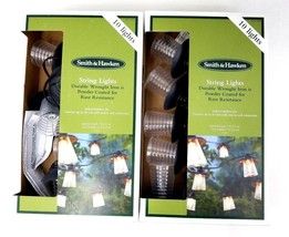 2 Smith & Hawken 10-Light Indoor/Outdoor String Lights 10 Lights ea Box ... - €31,18 EUR