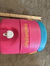 Vintage 1989 bucket of fun water cooler by igloo  - £31.73 GBP