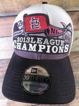 St Louis CARDINALS Baseball 2013 League Champions New Era Fitted OSFM Cap Hat - $12.86